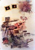 Lichen 1972 Limited Edition Print by Robert Rauschenberg - 1