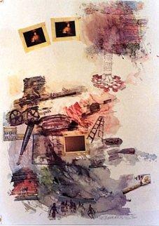 Lichen 1972 Limited Edition Print - Robert Rauschenberg