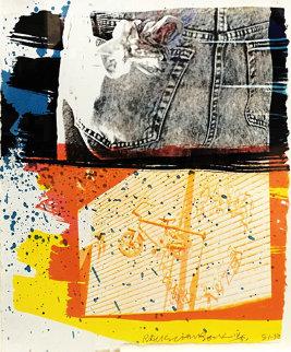 Fest 1991 Limited Edition Print - Robert Rauschenberg