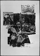 Test Stone #2, From Booster And 7 Studies AP 1967 Limited Edition Print by Robert Rauschenberg - 1