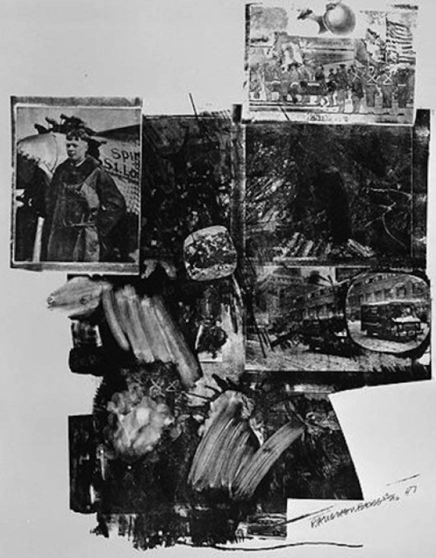 Test Stone #2, From Booster And 7 Studies AP 1967 Limited Edition Print by Robert Rauschenberg