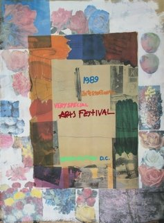 International Very Special Arts Festival, 1989 Limited Edition Print by Robert Rauschenberg