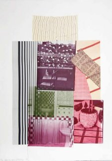 Pre-Morocco From 8 By 8 to Celebrate Portfolio 1983 Limited Edition Print by Robert Rauschenberg
