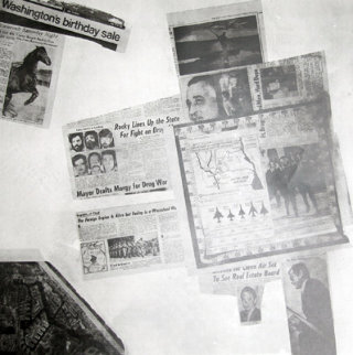Features From Currents, #57 1970 Limited Edition Print by Robert Rauschenberg