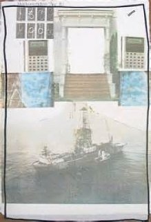 Untitled PP 1981 Limited Edition Print by Robert Rauschenberg