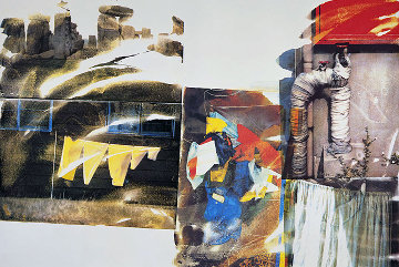 Source From Speculations 1996 Huge Limited Edition Print - Robert Rauschenberg
