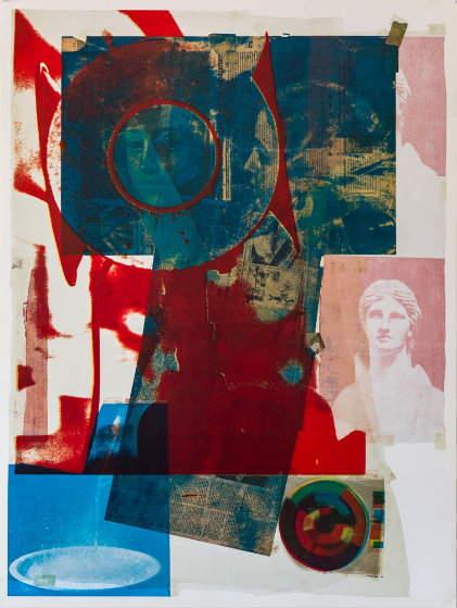 Quarry 1968 Limited Edition Print by Robert Rauschenberg