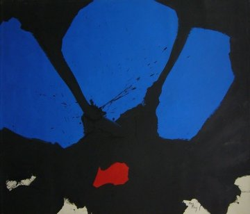 Butterfly 1995 57x67 Super Huge Original Painting - Ben Ray