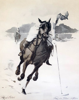 Polo Limited Edition Print by Ray Ellis