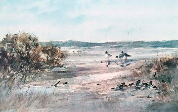 Edge of the Dunes AP 1978 Limited Edition Print by Ray Ellis