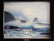 Seascape 1970 26x30 Original Painting by Raymond Page - 2