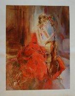 Red Note II 2009 Embellished Limited Edition Print by Anna Razumovskaya - 1