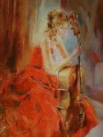 Red Note II 2009 Embellished Limited Edition Print by Anna Razumovskaya - 0