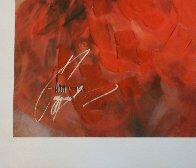 Red Note II 2009 Embellished Limited Edition Print by Anna Razumovskaya - 2