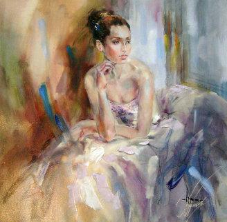 Soft As Silk 2009 Embellished  Limited Edition Print by Anna Razumovskaya