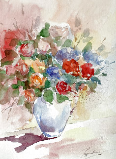 Untitled 2001 15x11 Watercolor - Anna Razumovskaya