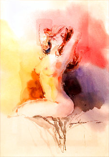 Essence 1 Watercolor 2008 29x25 Watercolor - Anna Razumovskaya