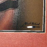 Go My Son 1983 36x31 Works on Paper (not prints) by Robert Redbird, Sr. - 5