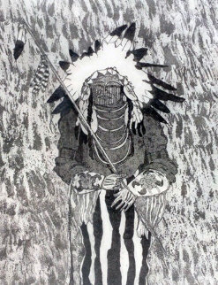 White Man Runs Him 1981 Limited Edition Print - Kevin Redstar