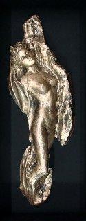 Rapture Bronze Sculpture 2001 26 in  Sculpture by Ira Reines