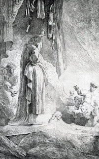 Raising of Lazarus B232 Limited Edition Print -  Rembrandt