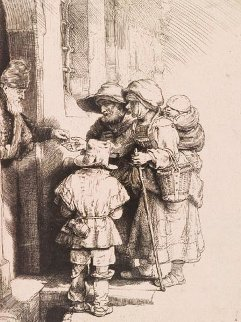 Alms Giver Limited Edition Print by  Rembrandt
