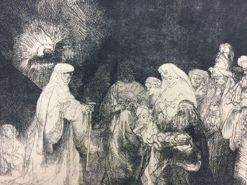 Presentation in the Temple  Limited Edition Print by  Rembrandt