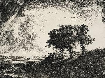 Three Trees Limited Edition Print -  Rembrandt Millennium Edition