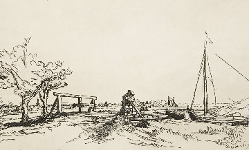 Bridge Limited Edition Print -  Rembrandt Millennium Edition