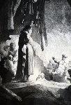 Raising of Lazarus  Limited Edition Print -  Rembrandt Millennium Edition