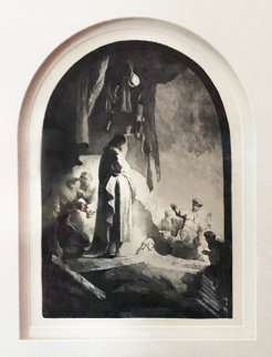 Raising of Lazarus:  The Larger Plate Limited Edition Print -  Rembrandt Millennium Edition