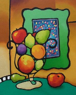 Nature Morte A Saveur De Fruits 2004 Limited Edition Print - Rene Lalonde