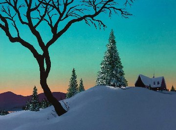 Magic De l'hiver Limited Edition Print - Rene Lalonde