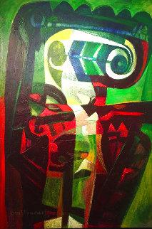 Gurugu 2008 60x40 Huge Original Painting - Raul Enmanuel