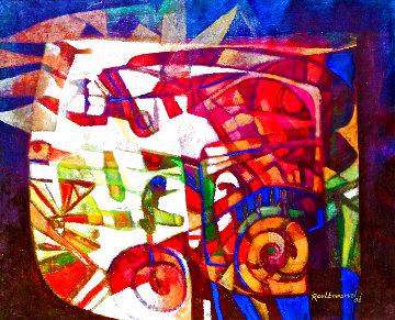 La Lampara 2006 40x50 Huge Original Painting - Raul Enmanuel
