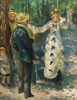 La Balancoire   Limited Edition Print - Pierre Auguste Renoir