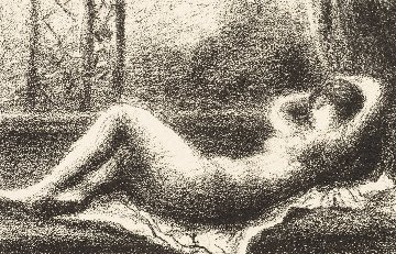 Odalisque 1904 Limited Edition Print - Pierre Auguste Renoir