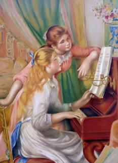 Jeunes Filles Au Piano  1993 Limited Edition Print - Pierre Auguste Renoir