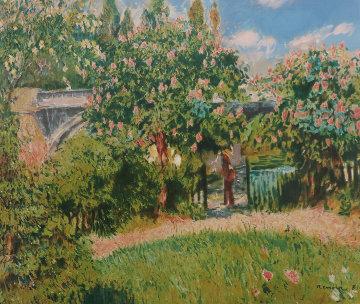 Les Marronniers Roses 1993 Limited Edition Print - Pierre Auguste Renoir