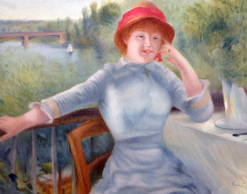 Alphonsine Fournaise  1992 Limited Edition Print - Pierre Auguste Renoir