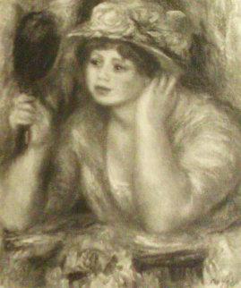 La Femme Au Miroir 1919 Limited Edition Print - Pierre Auguste Renoir