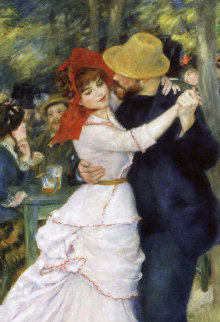 Dance At Bougival  Limited Edition Print - Pierre Auguste Renoir