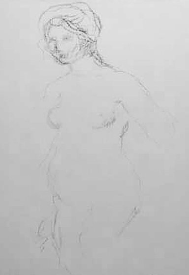 Standing Nude 1910 Limited Edition Print by Pierre Auguste Renoir