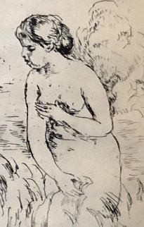 Baigneuse Debout a Mi-Jambe 1919 Limited Edition Print - Pierre Auguste Renoir