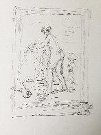 Femme Au Cep De Vigne 1904 Limited Edition Print by Pierre Auguste Renoir - 1