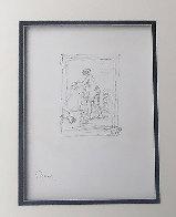 Femme Au Cep De Vigne 1904 Limited Edition Print by Pierre Auguste Renoir - 2
