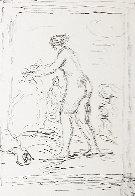 Femme Au Cep De Vigne 1904 Limited Edition Print by Pierre Auguste Renoir - 0