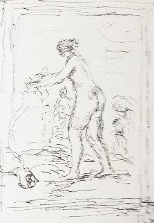 Femme Au Cep De Vigne 1904 Limited Edition Print - Pierre Auguste Renoir