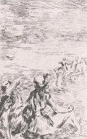 Sur La Plage a Berneval   Limited Edition Print by Pierre Auguste Renoir - 0