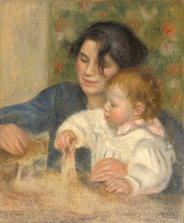 Gabrielle And Jean Limited Edition Print - Pierre Auguste Renoir